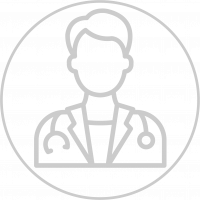 icon of a doctor with stethascope