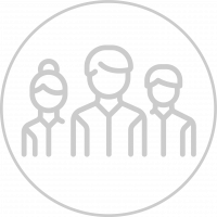 icon of a group of doctors